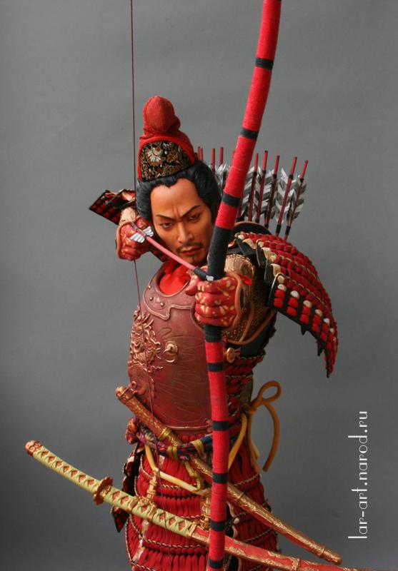 самурай-лучник(детали)