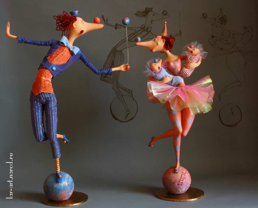 Куклы на каркасе своими руками мастер класс 1